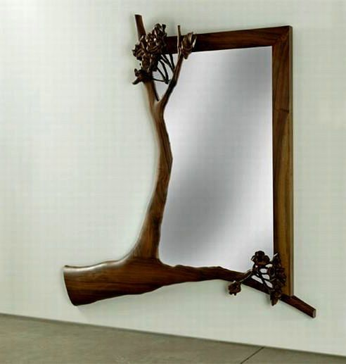 Decorative mirror collection unusual mirror stickers and for Decorative wall mirrors