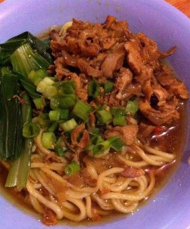 Resep Mie Ayam Solo : resep, Resep, Puspita, Masakan, Korea,, Makan, Siang,