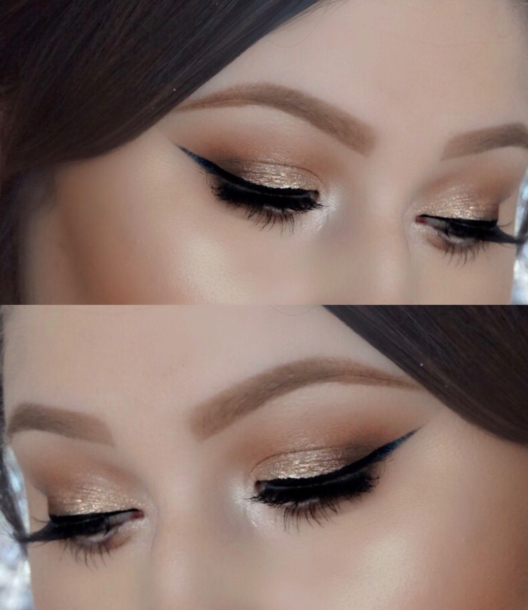 Bridal, bridal makeup, prom makeup, winged liner, natural
