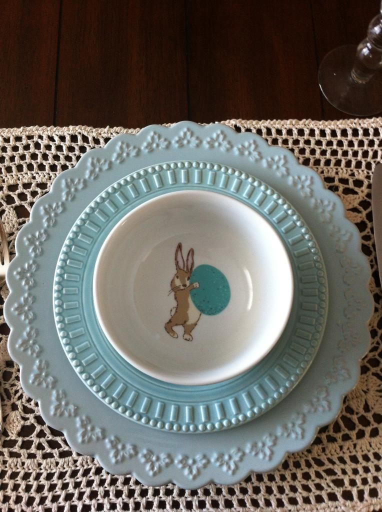 #Worldmarket Easter Tablescape