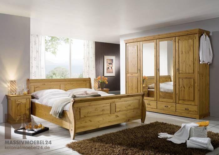 Schlafzimmer Kiefer ~ Nizza schlafzimmer kiefer lackiert honig jetzt bestellen unter