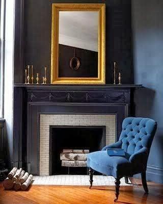A House Romance: Interiors Of Deep Blue