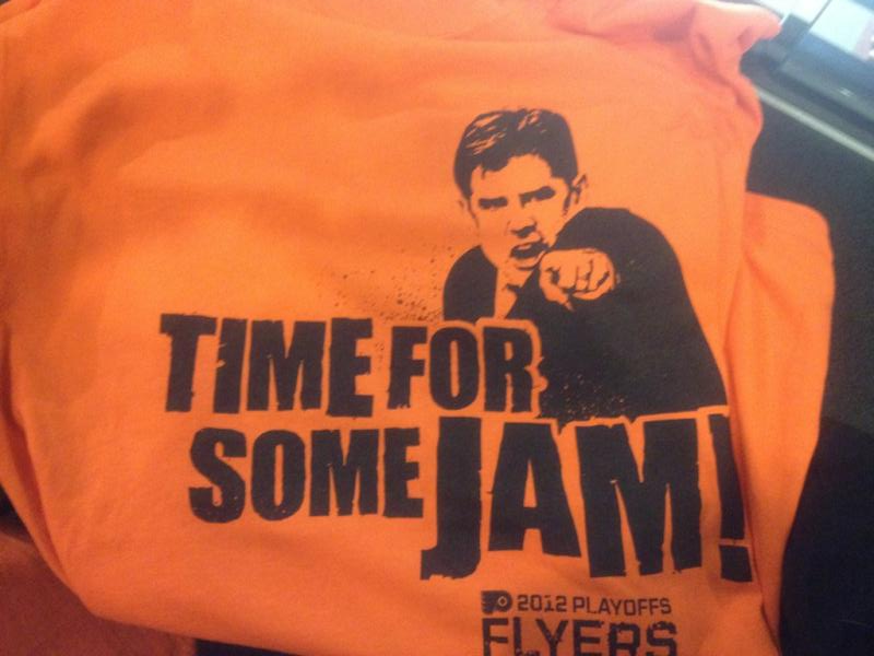 flyers t shirt giveaway