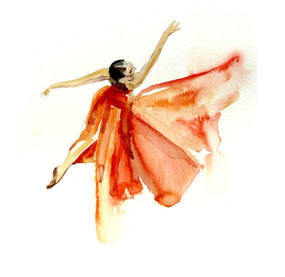 Pronomen Att hoppa ull  Ruche: Art Studio: Watercolor Dancers   Ballerina art, Watercolor dancer,  Dancer painting