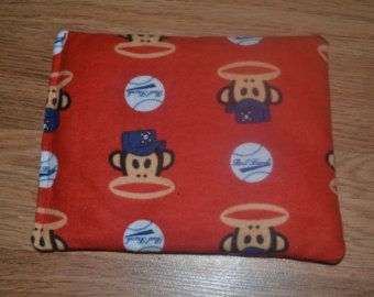 Red Monkey Booboo Pack Hot Cold Pack Rice Bag Bean Bag Toy