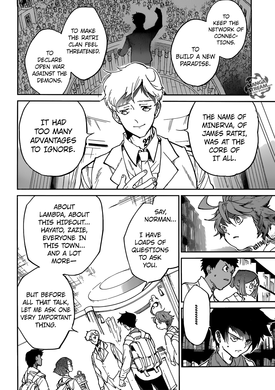 The Promised Neverland 119 Page 19 Manga Stream The