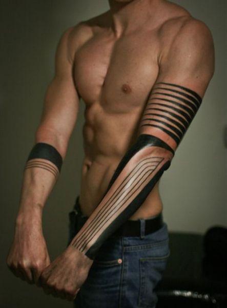 Męski Tatuaż Na Przedramieniu Tatuaże Tattoo Tatuaże