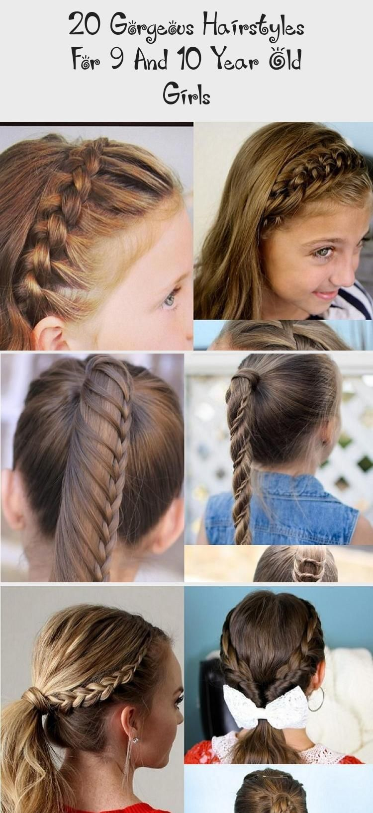 20 Gorgeous Hairstyles For 9 And 10 Year Old Girls Child Insider Fasteverydayhairstyles Everydayhairstyles V In 2020 Hair Styles Gorgeous Hair Everyday Hairstyles