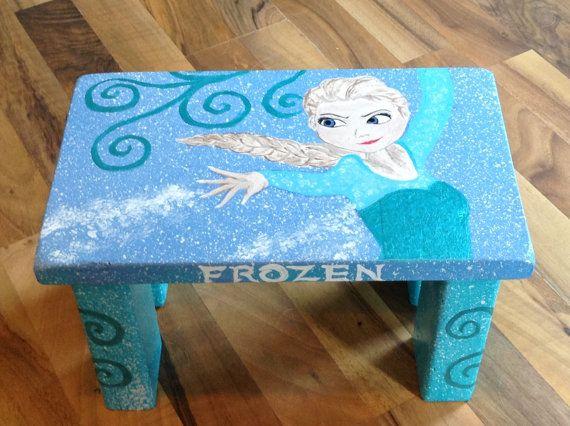 Frozen Fabulouse and fun childrenu0027s step stool by 1StepUp on Etsy $60 & Frozen Fabulouse and fun childrenu0027s step stool by 1StepUp on Etsy ... islam-shia.org