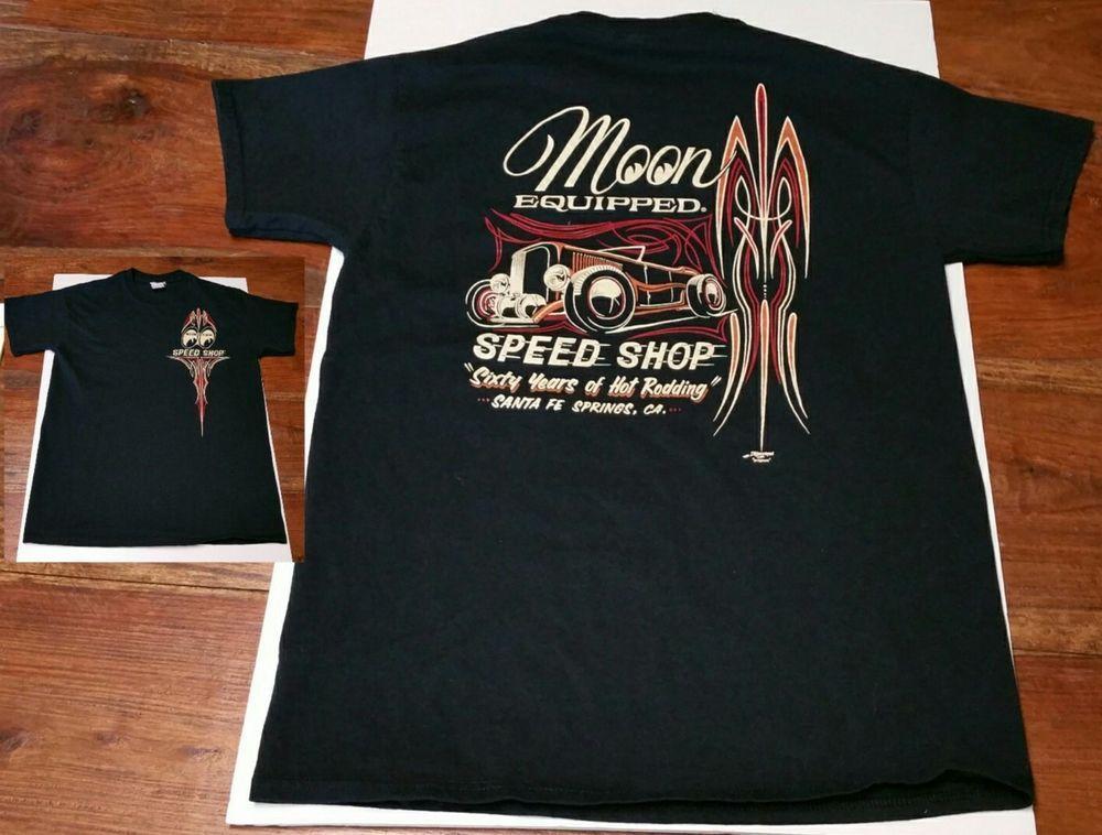 Drag-Ons All Go-No Sho Hot Rod Car Club T Shirt Black Graphic Rockabilly