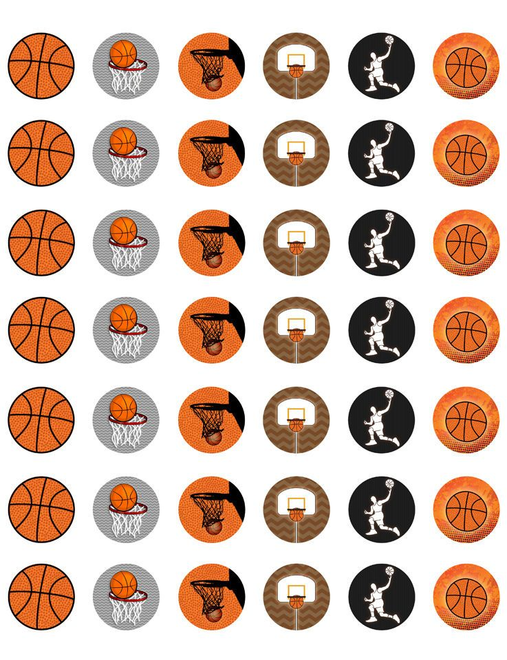 basketball themed printable bottle cap images template of 42