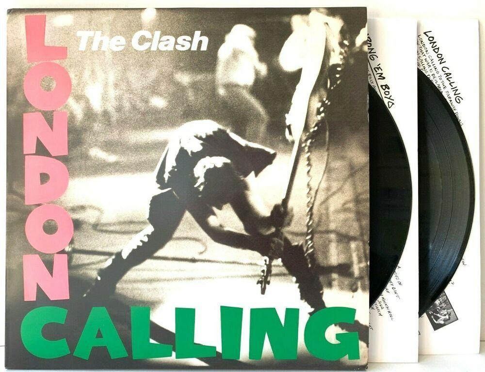 The Clash London Calling Eu Pressing Lp Vinyl Record Album 180g 180 Gram In 2020 Vinyl Records Vinyl Record Album Lp Vinyl
