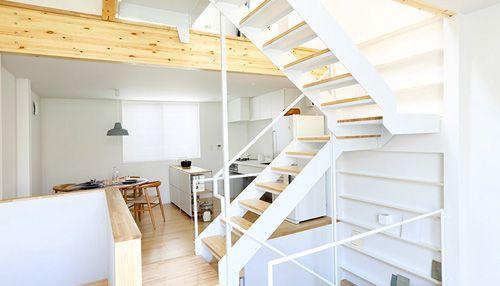 Muji Viel Haus auf wenig Grundstück Fertighäuser, Japanische - moderne esszimmer ideen designhausern