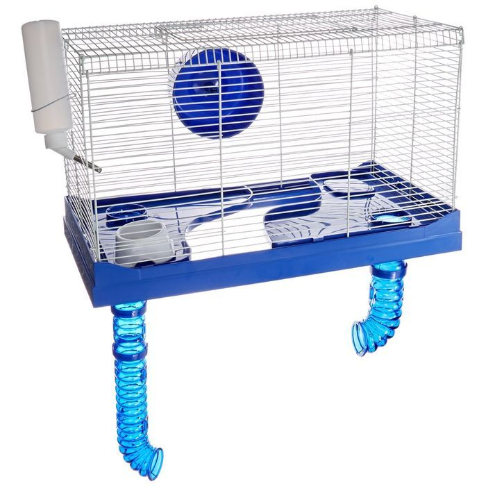 Ware Manufacturing Small Animal High Rise Pet Cage 10 Gallon