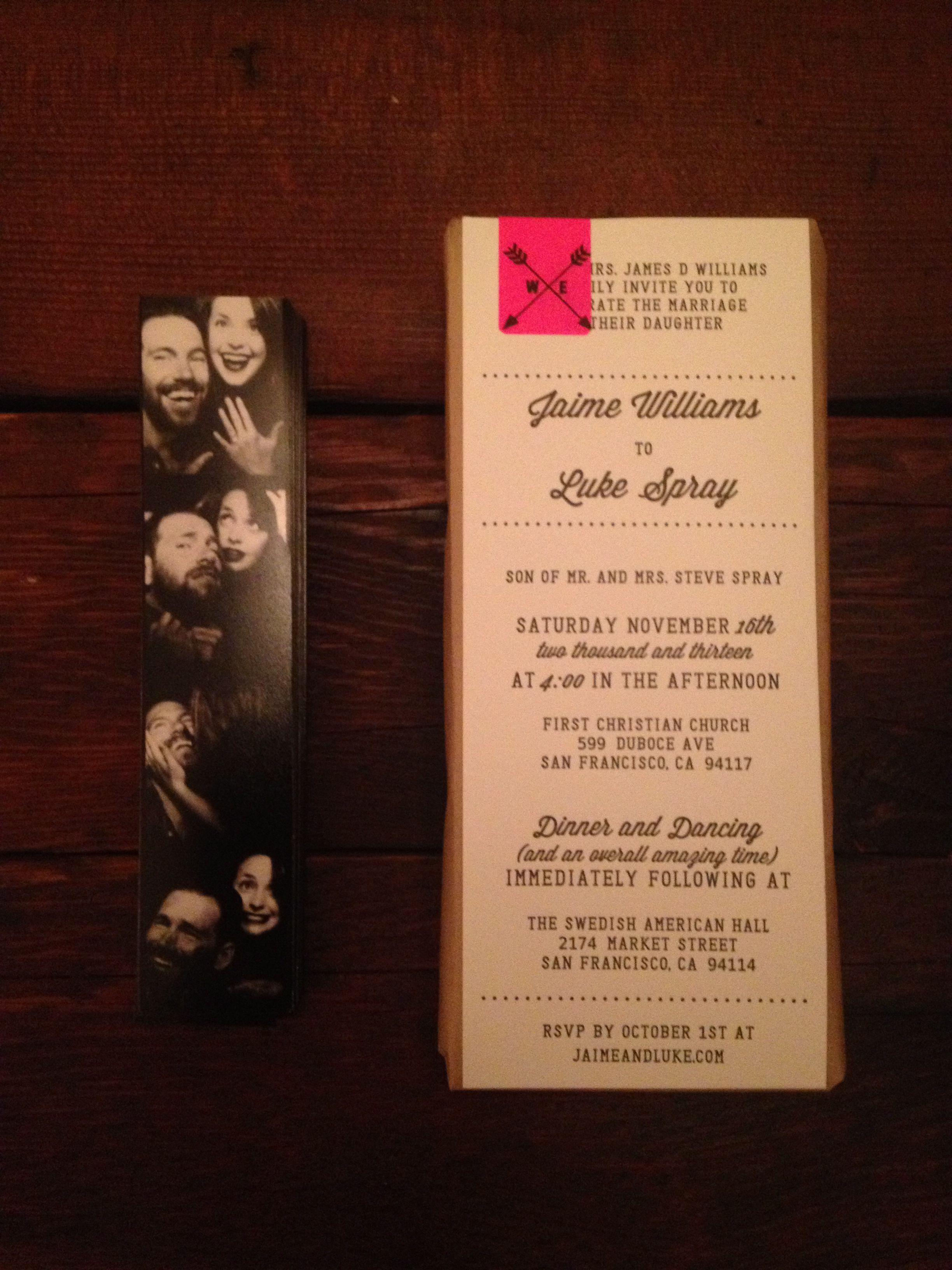 DIY sanfrancisco wedding westerneditions letterpress