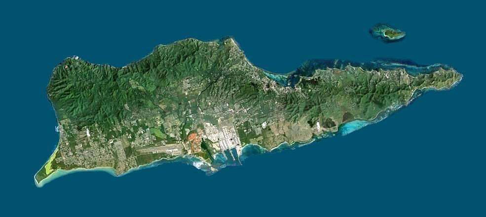 St Croix Us Virgin Islands Satellite Map Stx Scrapbook Island Map Virgin Islands Us