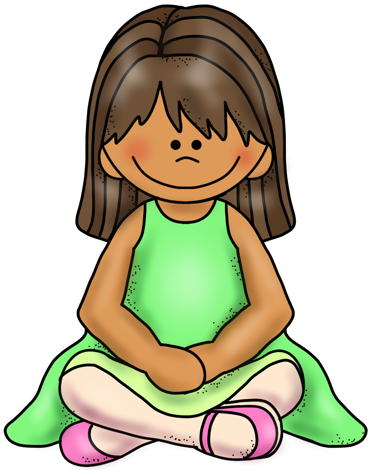 Sitting Criss Cross Applesauce Clipart
