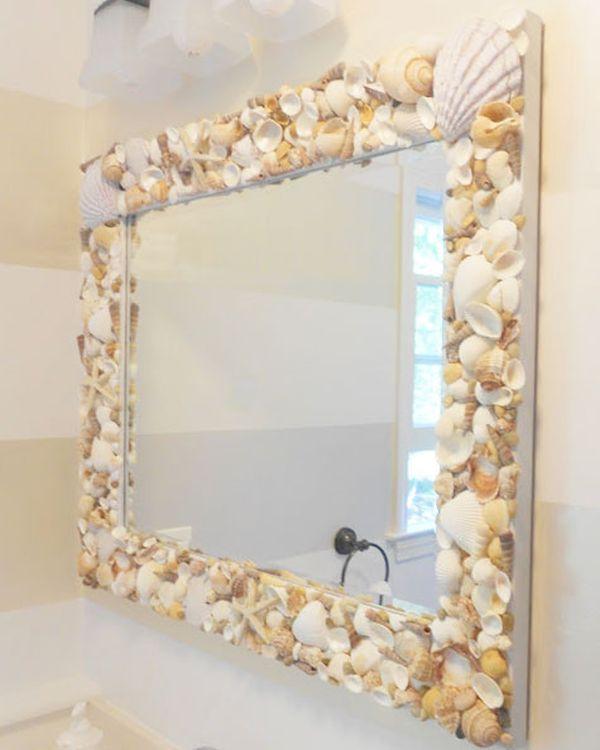 10 Easy Mirror Diys For Your Home Beach Theme Bathroom Beach