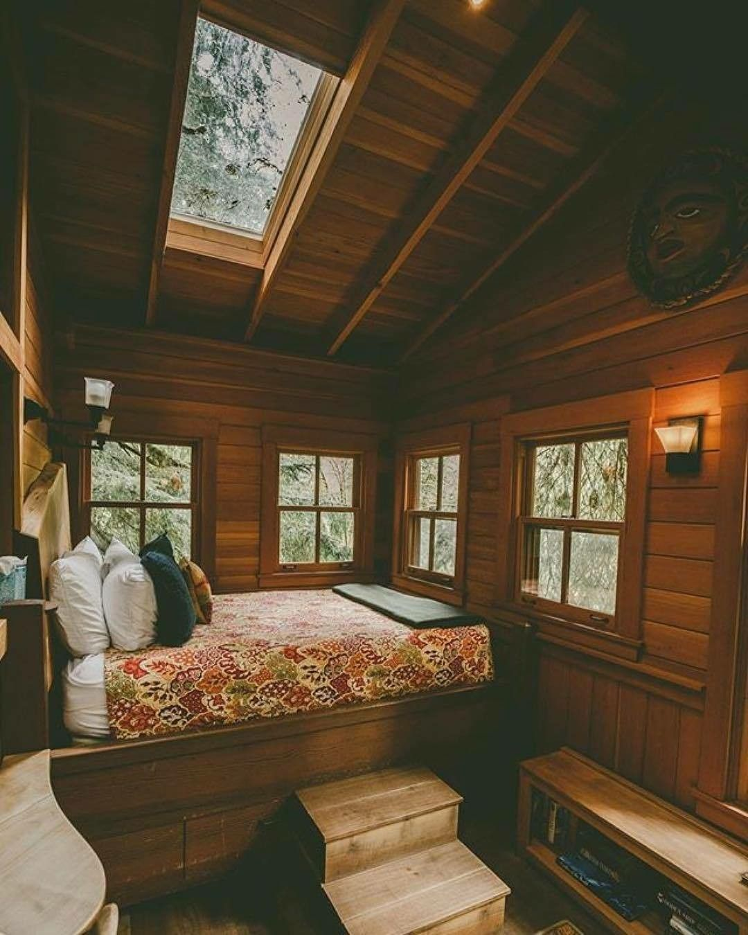 Pin By Nathan Milkie On Decor Cozy Cabin Bedrooms Cozy Cabin