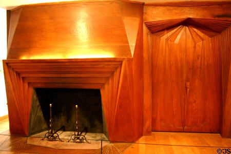 Image result for wharton esherick fireplace at the philadelphia museum of art