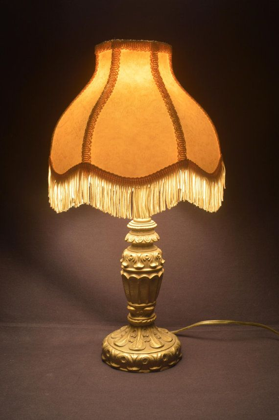 Reproduction lamp shade for vintage lamp are
