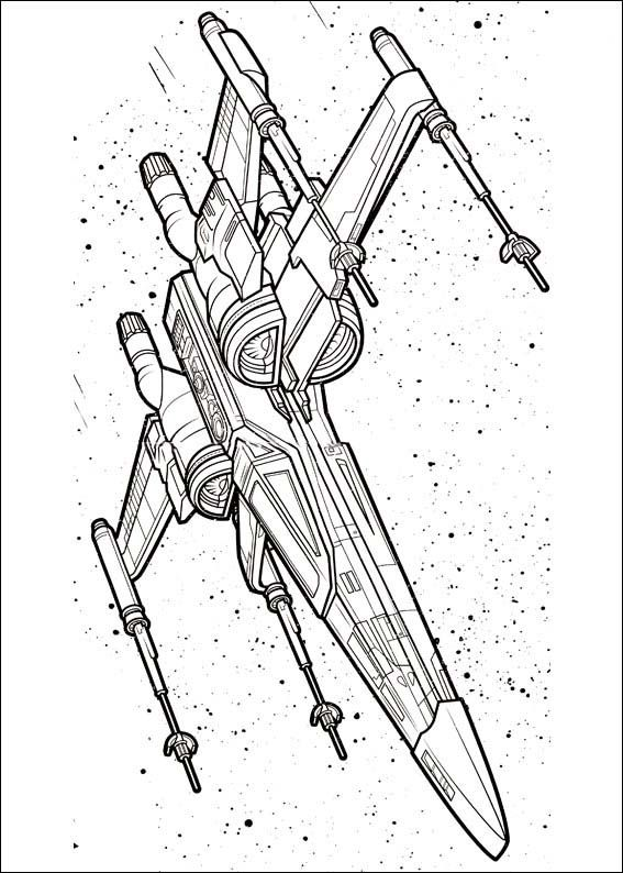 Star Wars The Force Awakens Coloring Pages 7 Star Wars Coloring