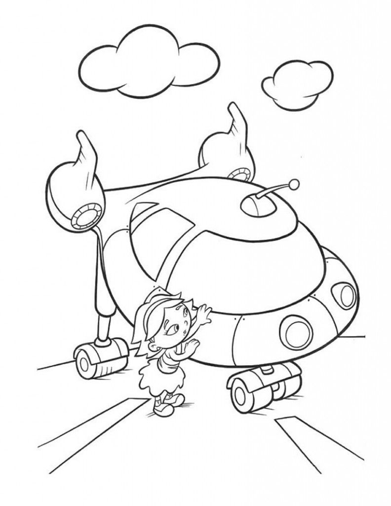 Coloring pages vacuum cleaner - Little Einsteins Coloring Pages To Print