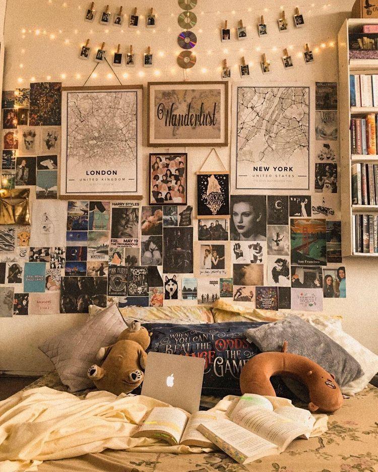 Bedroom Vintage Retro Bedrooms Retro Room Room Decor Bedroom