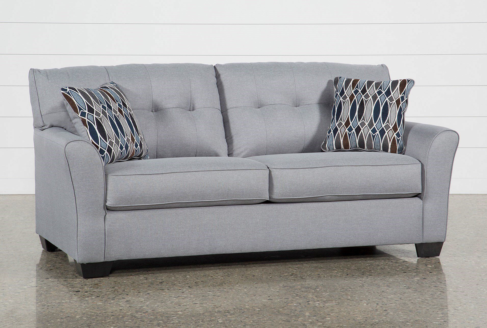 Shop For Chilkoot Smoke Full Sofa Sleeper At Livingspaces Com