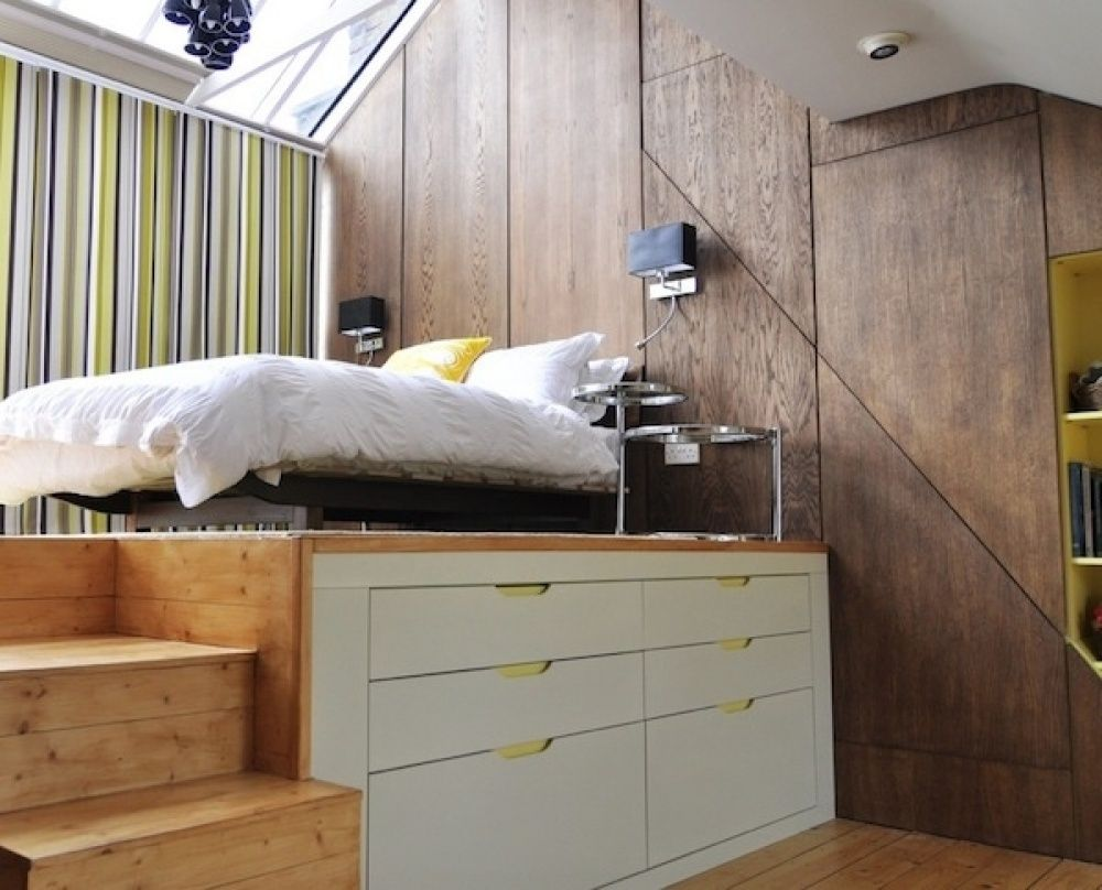 Small room loft bed ideas  Pin by LALI MONTOLIO SOLE on   Pinterest  Interior