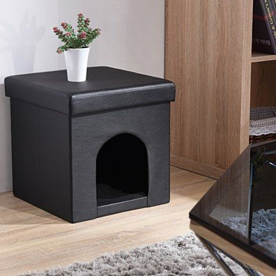 Excellent Rothwell Leather Storage Ottoman Dogs Contemporary Gamerscity Chair Design For Home Gamerscityorg