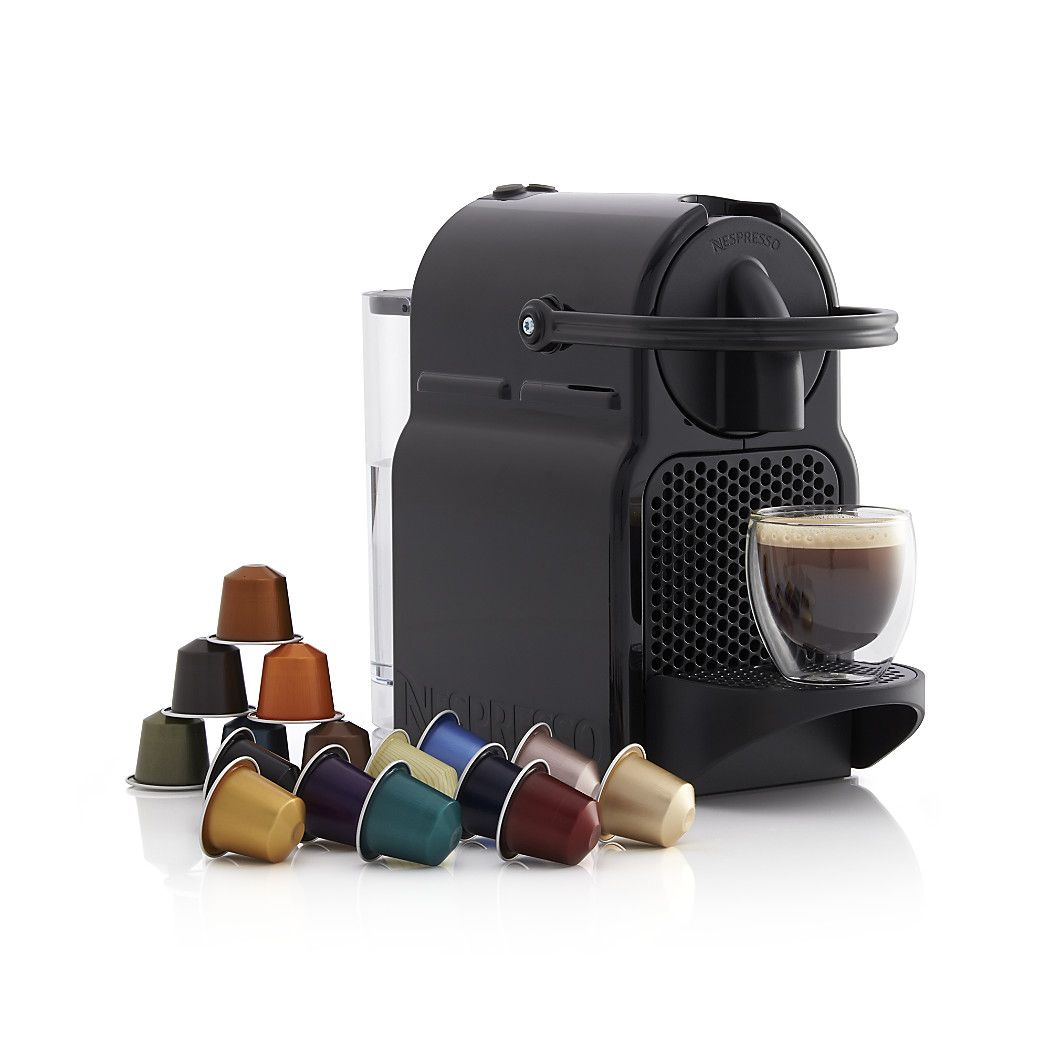 Nespresso Inissia Espresso Maker Jpg 1 050 1 050 Pixels Crate And Barrel Espresso Maker Home Coffee Stations