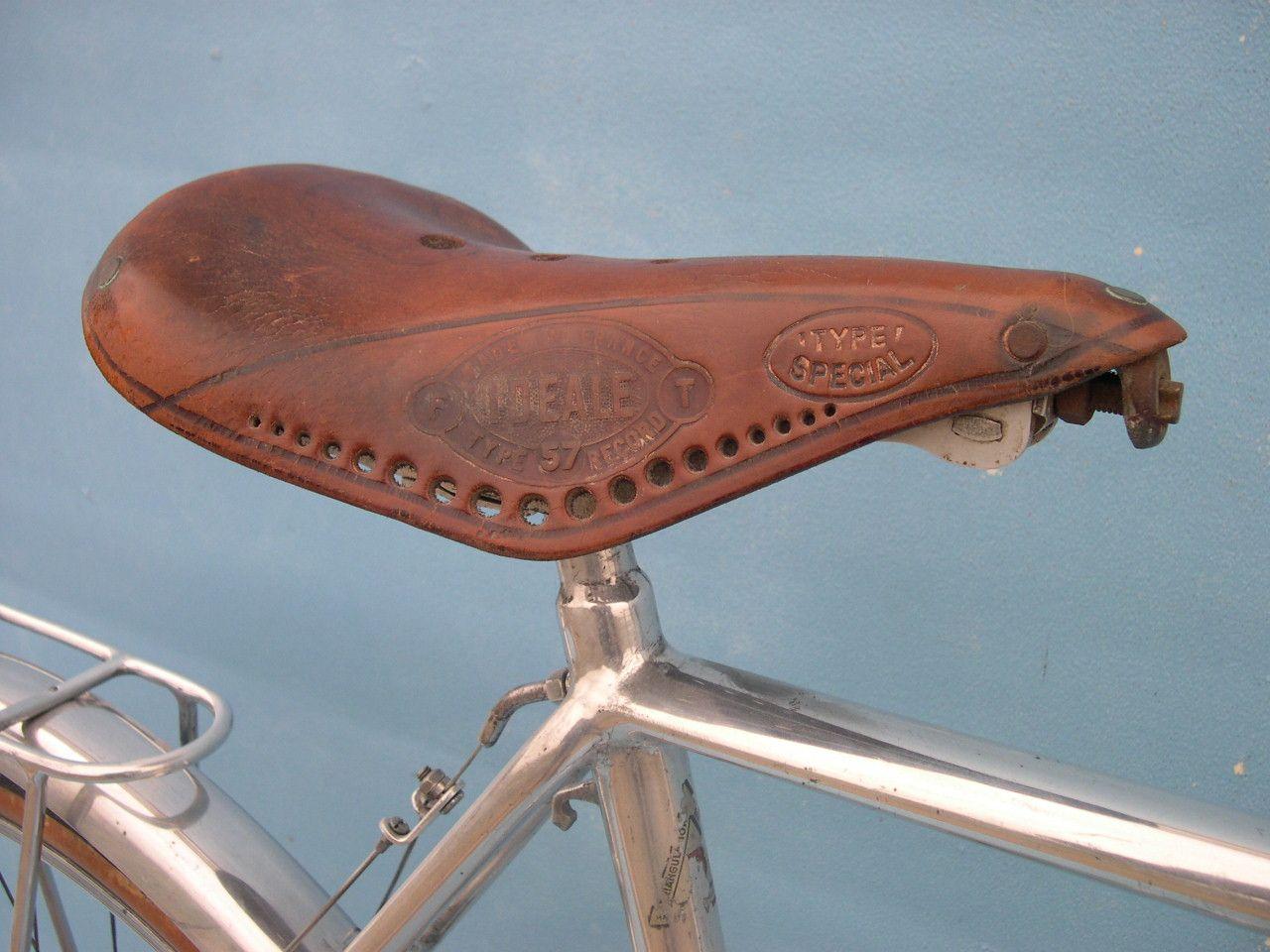 Not Vintage bike saddles