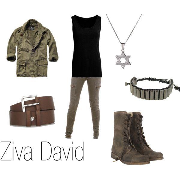 Ziva David in 2019