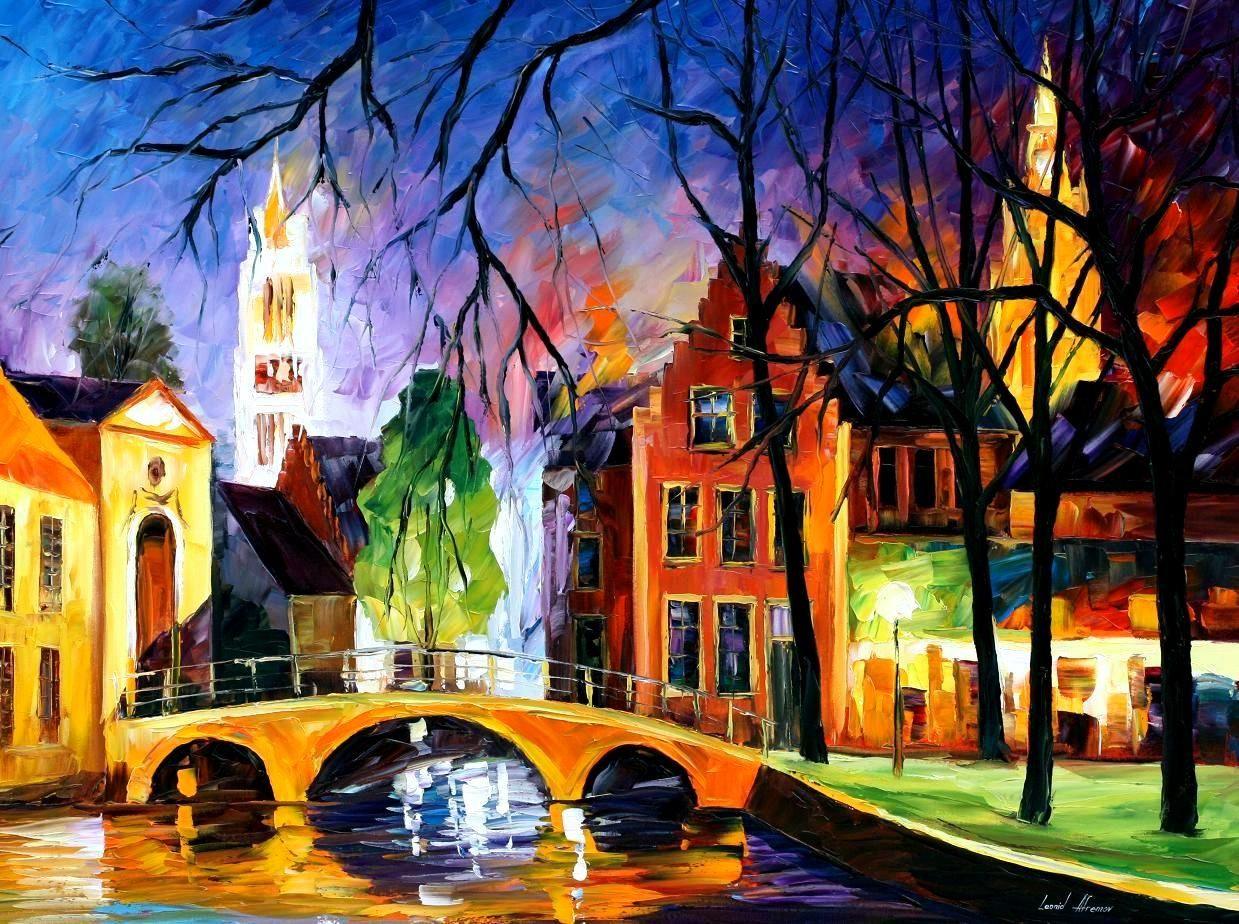 Festmenyek 3d ben 575 - 575 Best Images About Art Colorful Leonid Afremov On Pinterest Original Paintings Rain And Venice