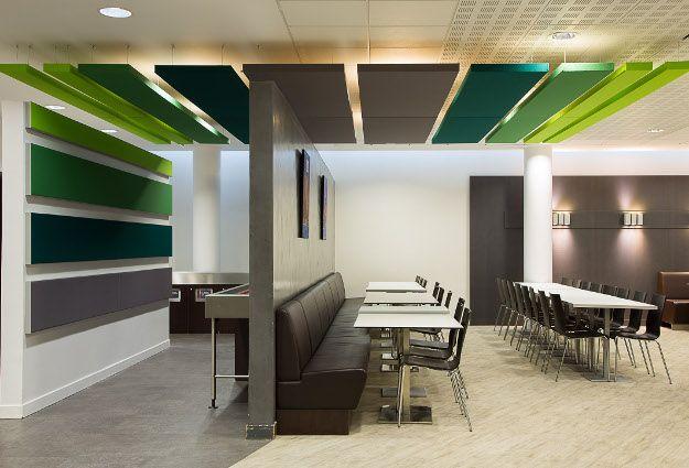 panneaux acoustiques restaurant moore acoustic oasis. Black Bedroom Furniture Sets. Home Design Ideas