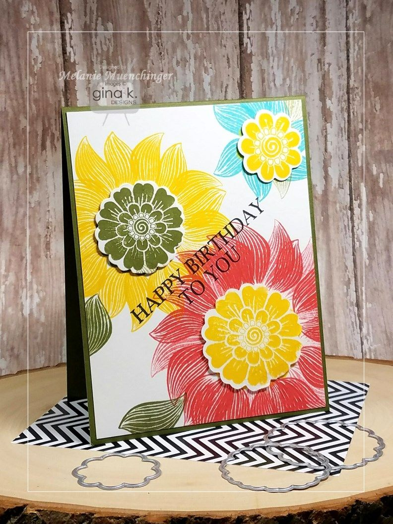 Good morning! The Cast and Crew for Gina K Designs  welcomes you to another fabulous blog hop celebrating the new StampTV Kit ! W...
