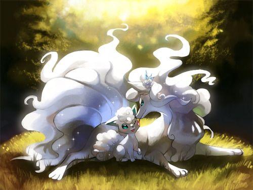 cc020eef alola form vulpix and ninetails fanart - Google Search | Pokemon ...