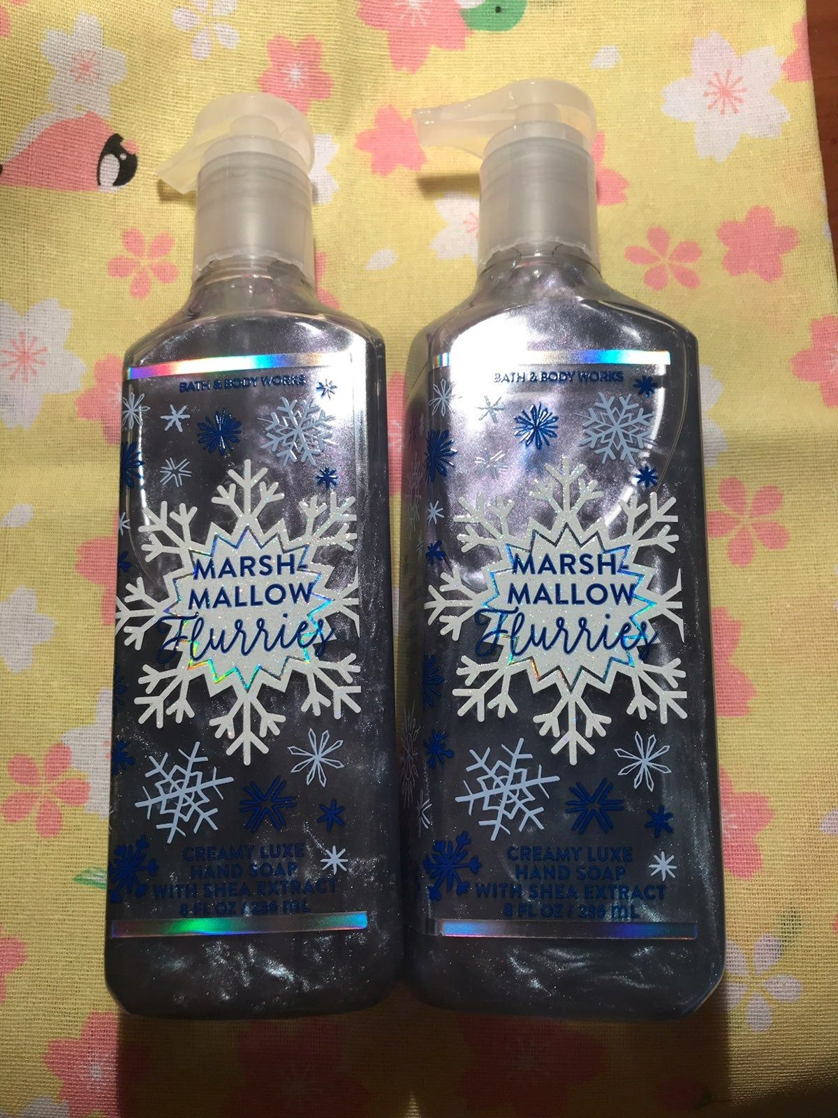 Lux Nourishing Hand Soaps Set Of Two One Cracked Bath Body