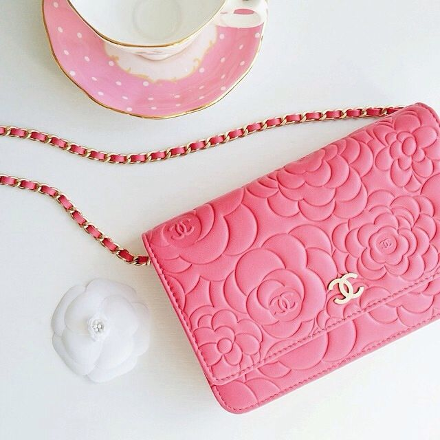 2cbccfade396 Not typically a fan of Chanel bags but I like this bright floral one ...