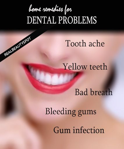 Cure Dental Problems With Home Remedies