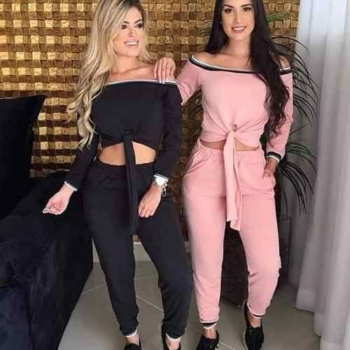 030fc1344 conjunto crepe tendencia moda feminina instagram 2018