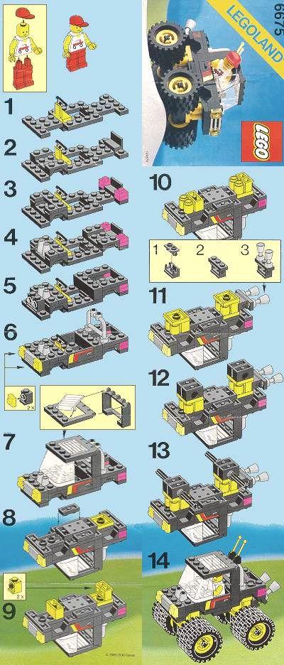 Lego Instructions Art Of The Lego Pinterest Lego Instructions