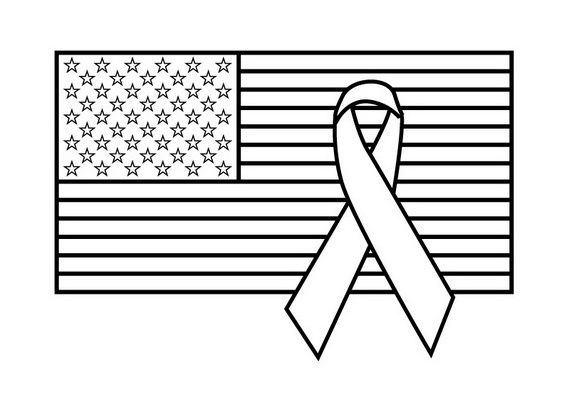 memorial day coloring pages holidays and child