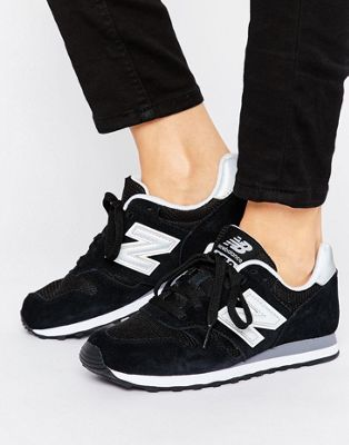 3fe7eb96252 New Balance 373 trainers in black