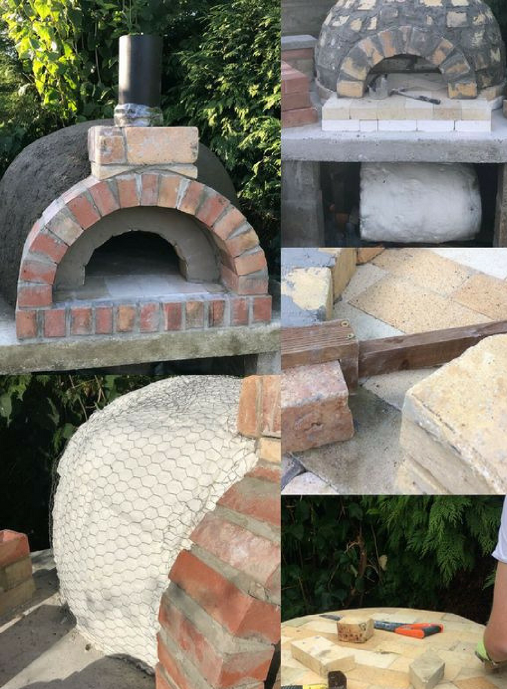 Beautiful Wood Fired Pizza Oven Pizza Oven Build Tutorial Wood Fired Pizza Oven Pompeii Oven Italian Style Oven O Pizza Oven Bread Oven Italian Pizza Oven