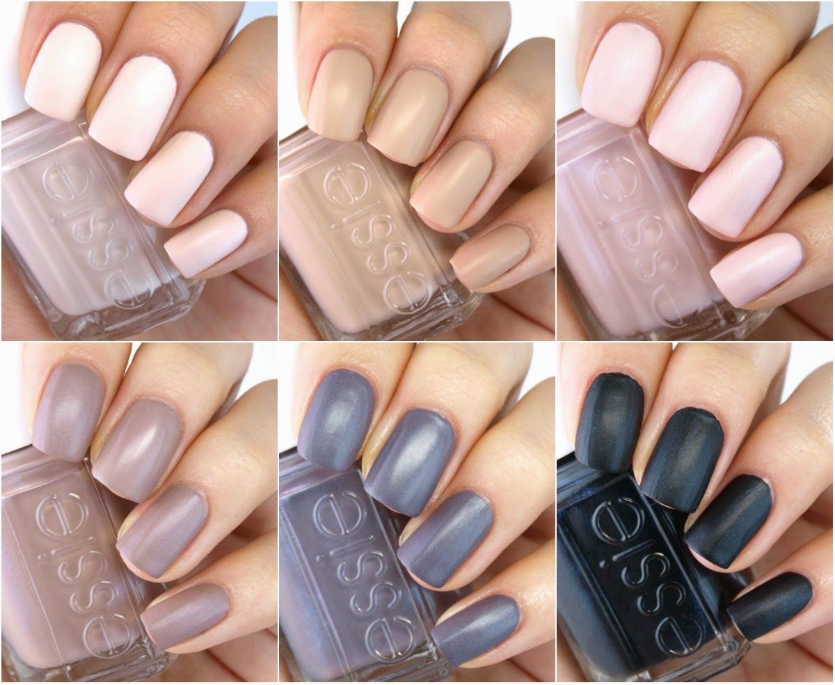 Essie Cashmere Matte 2015 Collection: Review and Swatches | Cashmere ...