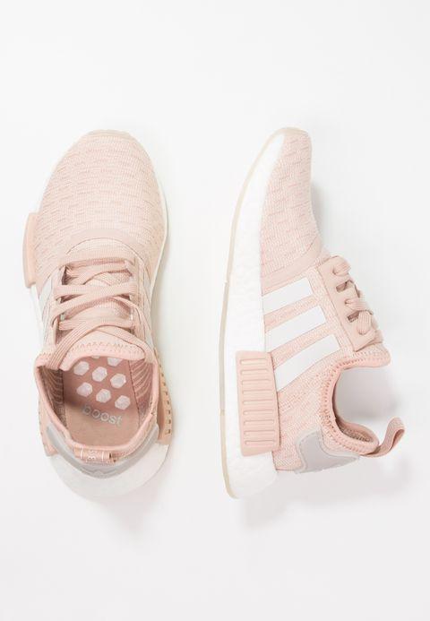 adidas Originals NMD_R1 - Baskets basses - ash pearl/chalk pearl/footwear white I08eX