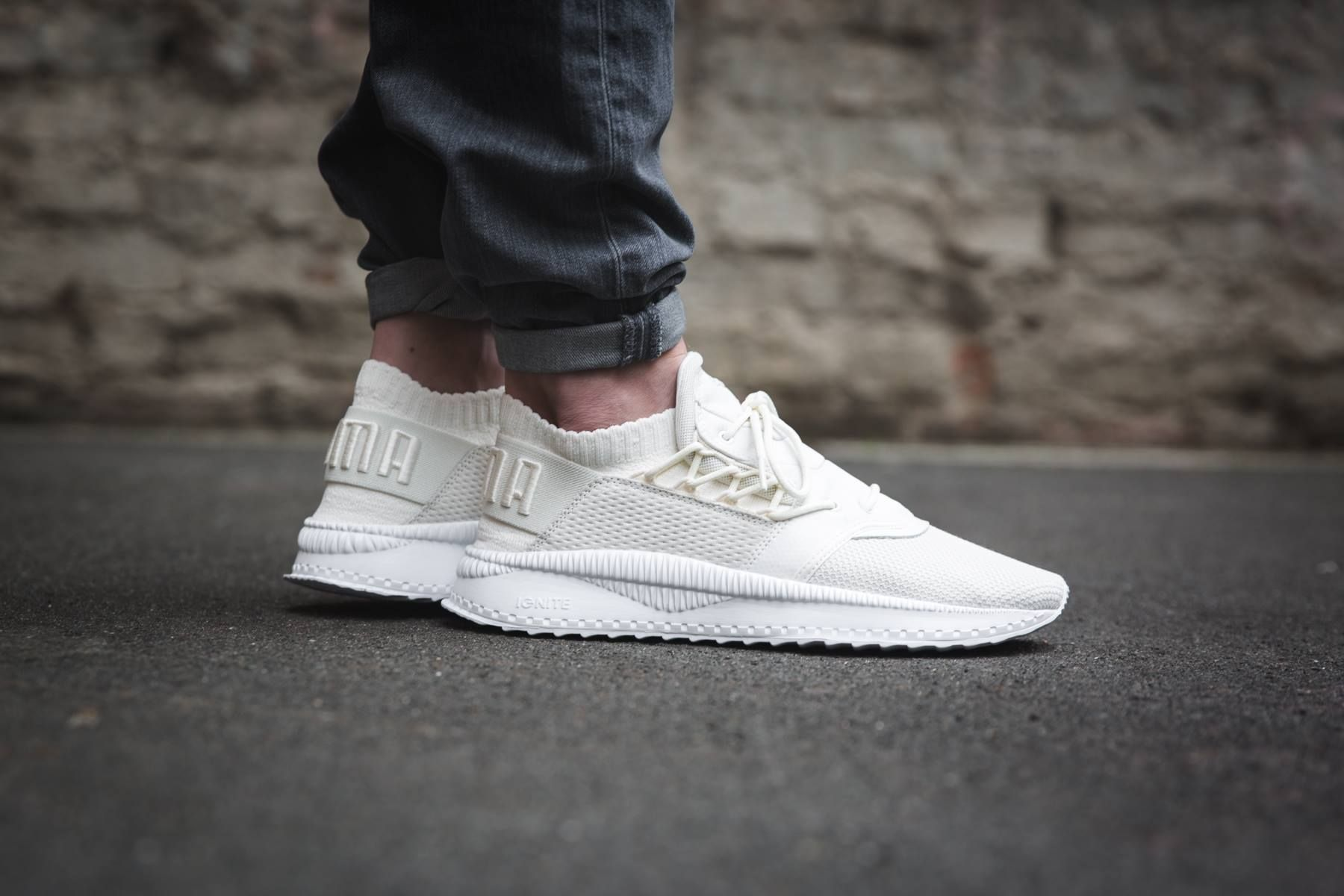 0e147123af Puma Tsugi Shinsei Raw 'cream white / white' (363758-03) - KICKS-DAILY.COM