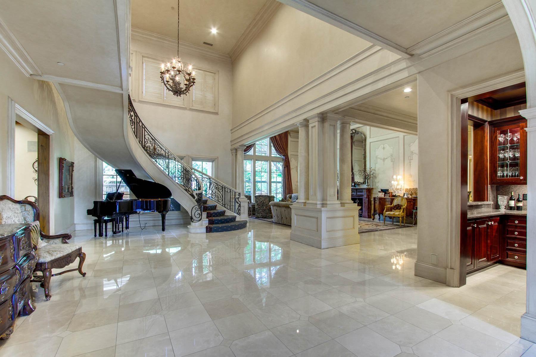 Large Mansion In Dallas Texas Dream House Interior Decorating